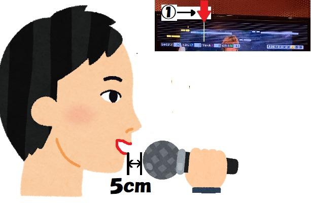 マイクと口の距離がセンチ